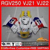 Wholesale fairing 1989 resale online - Bodys For SUZUKI RGV250 VJ21 SAPC Frame HC RGV RGV VJ22 white factory Fairing