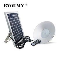 luz solar solar luzes venda por atacado-Eyoumy 6 w luz de suspensão ao ar livre movido a energia solar 5730 36 led shed luz com controle remoto para jardim quintal pátio filme filme