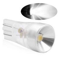 cree cunha bulbo venda por atacado-2pcs T10 W5W alta qualidade Cree Chip LED Car Estacionamento Light Source Canbus sem erro Lâmpada Auto Reading Lamp Dome Wedge Side Cauda