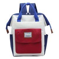 mädchen schultaschen zum verkauf groihandel-Oxford-Rucksack Preppy Schultasche Student Travel Bag Mädchen Red Rucksack Frauen große Kapazitäts-Rucksack Hot Sale # R10