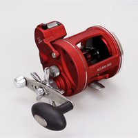 Wholesale fishing reel left handed resale online - boat Lizard Right and Left Hand Trolling Fishing Boat With Electric Power Line Counting Multiplier Drum Fishing Reel