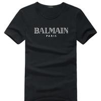 aaa top brand оптовых-NEWAAABalmain Оптовые футболки для мужчин женщин тенниски женщин S Одежда Одежда тройники Top Summer Brand T Shirt