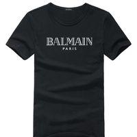 aaa t shirt toptan satış-YENİAAAErkekler Kadınlar Tişörtlü Kadın S Giyim Giyim Tees Top Yaz Marka T Gömlek için Balmain Toptan T Gömlek