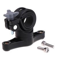 einstellbarer wasserkäfig großhandel-Fahrrad Wasserflasche Adapter Cage Cup Holder einstellbar 360 Grad Rotation Clip L15 # 148800