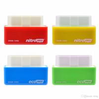 ferramentas de afinação de chips venda por atacado-NitroOBD2 Gasolina Benzine Carros Tuning Chip Box Mais poder Torque Nitro OBD2 plug and Drive Nitro Ferramenta OBD2