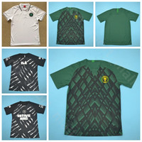 47e5aa459 2019 Nigeria Jersey Men Soccer Green Black 7 MUSA 9 IGHALO 18 IWOBI 11 MOSES  10 MIKEL 14 IHEANACHO Footbll Shirt Kits Uniform