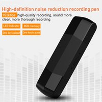 Wholesale otg plug for sale – best Portable HD Digital USB Voice Recorder GB Recording U Disk OTG For Android Dual Plug MP3 Recorders Professional Voice Recorder