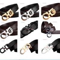 famosas tapas de diseñador para hombre al por mayor-Hot Famous Designer Belts Cinturones de Lujo Clásico Para Hombres Cinturón de Hebilla Grande Moda de calidad superior para hombre Cinturones de Cuero Al Por Mayor Envío Gratis S-2XL