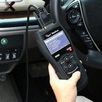 lector de código ford escáner al por mayor-Lector de código OBD2 Analizador de motor Vgate VS890 Escáner EOBD OBD2 Lector de código de escáner automático Herramienta de diagnóstico del coche