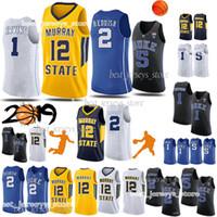 jersey anthony venda por atacado-NCAA 1 Sião Williamson Russell Westbrook 0 15 Anthony 32 Laeettner 33 BIRO Hight jerseys qualidade Basquetebol 8678