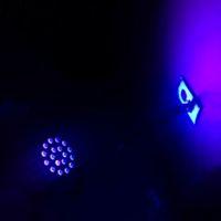 Wholesale background color flash for sale - Group buy Stage LED Purple Light Par Light KTV Bar Background Flash UV Wash Wall Dyeing Sound Control Beam Light
