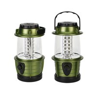 ingrosso piccole lampade-Multi Function Camping Lamp Outdoor Bivouac Small Exquisite Tent Light con gancio verde durevole Dimming Switch Lanterna 10 5jbD1