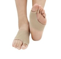 Wholesale bunions pads resale online - Foot Care Fabric Gel Bunion Pads Protectors Sleeves Shield Anti friction Big Toe Joint Insoles Hallux Valgus Corrector Pairs