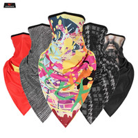 Wholesale biker neck mask for sale - Group buy Motorcycle Half Face Mask Men Balaclava Windproof Biker Cycling Face Shield Head Scarf Skull Mask Moto Anti UV Neck Warmer