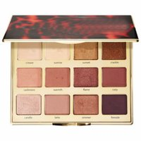Wholesale tarte cosmetics for sale - Group buy Promotion Colors Cosmetic Tarte Brand Tartelette Toasted Palette Eyeshadow High Performance Naturals High Quality With