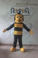 Wholesale insects music for sale - Group buy fly insect honey bee mascot costumes cartoon wasp costumes POLE STAR MASCOT COSTUMES