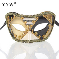 venezianische kostüme für männer großhandel-Frauen Männer Unisex Musiknote Partei Masken Maskerade Maske Halloween Weihnachten Venezianischen Kostüme Cosplay Karneval Anonym Maske