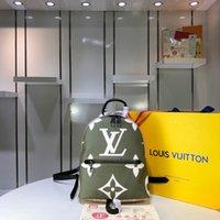 mochila rosa-verde venda por atacado-Verde e rosa M41560 41560 mochila de alta qualidade tamanho; 21 * 31 * 10 cm senhora todos os dias clássico pop saco de inclinação