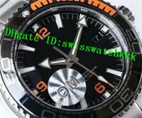 мужские часы швейцарские оранжевые оптовых-VS New Luxury 215.30.44.21.01.002 Часы Swiss 8900 Автоматическая Сапфир Кристалл Черный Оранжевый Керамическая рамка из нержавеющей стали Мужские часы