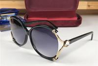 diseñador de mariposas al por mayor-Nuevas gafas de sol de diseño de lujo 1814 Mujeres con montura de mariposa Gafas estilo salvaje Gafas 100% Protección UV400 Calidad superior Ven con estuche