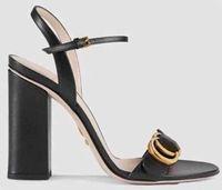 ingrosso sandali dei talloni della scatola-Con la scatola! Pantofole da donna di alta qualità Sandali di marca Scarpe con tacco Scarpe da designer Scarpe da basket con scivolo Scarpe casual Infradito da shoe05 130