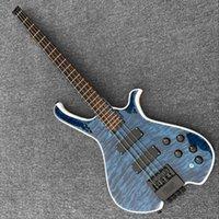 bassgitarre am besten großhandel-Kundenspezifische Fabrik Großhandel bester Preis, ohne Kopf 4 saitige E-Bass E-Gitarre, bietet Anpassung