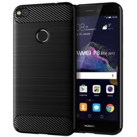 Wholesale soft case huawei p8 lite for sale – best Soft TPU Silicone Case for Huawei P8 Lite Silicone Fitted Carbon Fiber Soft TPU Shockproof Phone Cover