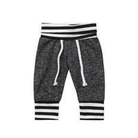 pantalones flojos chicos al por mayor-Casual Baby Boy Girl Pantalones de harén Pantalones para niños pequeños Pantalones Polainas Ropa