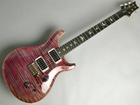 Wholesale smith electric guitars for sale - Group buy Custom Library Top Pattern Thin Violet Vintage Purple Electric Guitar Flame Maple Top Signature Smith frets China Made Guitars