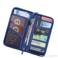Wholesale travel accessories passport resale online - Casual Function Passport Holder Solid Travel Accessories Passport Cover Storage Organizer Business Credit ID Card Wallet Case