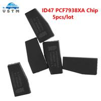 llave del coche transponder en blanco al por mayor-5 Unids / lote G Chip PCF7938XA ID47 Carbono Auto Transpondedor Chip Cerámica Coche Llaves en blanco Clave