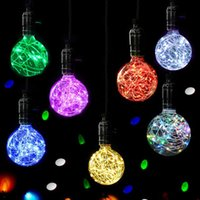 Wholesale candle bulbs led e27 for sale - Group buy Christmas LED Light Bulb Ball E27 Starry Fairy String Xmas Party Lamp Bulb Home Decoration Christmas Tree Decorative Crafts SA70