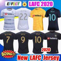 camisa x s al por mayor-Nuevos 2019 2020 LAFC Carlos Vela Fútbol Fútbol jerseys 18/19/20 Inicio X ZELAYA ROSSI Los Angeles FC Negro portero amarillo blanco camisas
