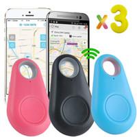 llavero buscador de alarmas al por mayor-3 UNIDS Key Finder Llavero Gps Fitness Tracker Tag Actividad Locator Niño Niños Perro Teléfono Perdida de Alarma Dispositivos de Seguimiento de Mascotas