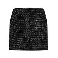 iplik etek modası toptan satış-Moda Bahar ve Kış New England Koleji Rüzgar Lady Seksi Büyüleyici Çanta Kalça Yün Karışımı Iplik Etek Mini Etek Womenswear