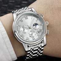 Wholesale watches waterproof stopwatch for sale - Group buy designer wathes mens watches quartz watch luxury watch mm calendar waterproof stopwatch fashion man watches good quality