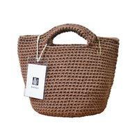 ручной вязки трикотажные сумочки оптовых-мешок моды сумки Aandyli женщин вязать тканые одно плечо сумка ручной работы сумки ретро акриловых женщин