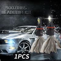 ingrosso lampadina hb1-9004 / HB1 72W Lampadine LED Faro Accessori per auto ad alta potenza Lampada frontale Super Bright Car Styling Sostituzione fendinebbia LED