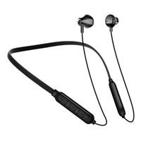 casques cervicaux bluetooth motorola achat en gros de-Bluetooth 5.0 Écouteurs Casque Sport Neckband Casque sans fil pour iPhone 8 Plus Samsung S9 S10 Huawei P0 Pro