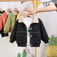 Wholesale korean high quality clothes for sale - Group buy New Toddler Boys Jackets Autumn Winter Thick Korean Jacket for Boy Baby Kids Clothing Fashion Casual Children Coats High Quality
