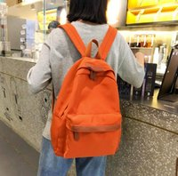 Wholesale japanese backpacks resale online - The Simple Pure colour and Ancient coloured Shoulder Bag for Girls in Japanese Department of Senior High School WL1024