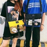 bolsas mensageiro japonês venda por atacado-Amantes Messenger Bags estilo japonês Ita Bolsa para meninas Personalidade Limpar Bag verão esfria Itabag streetwear sacos mulheres H812