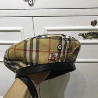 boinas al por mayor-Sombreros de lujo Diseñador Papá Polo Sombreros Gorra para hombres Mujeres Famoso Algodón Deporte ajustable Curva Boinas de moda Nuevo llegado Caliente Top de alta calidad