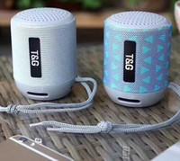 usb flash müzik çalar toptan satış-Taşınabilir mini kablosuz hoparlör eller serbest hoparlör Iphone için ses müzik çalar desteği TF kartı, USB flaş bluetooth 5W