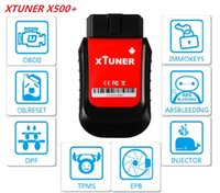 Wholesale isuzu bluetooth diagnostic tool resale online - XTUNER X500 V4 Bluetooth Special Function Diagnostic Tool works with Android Phone Pad