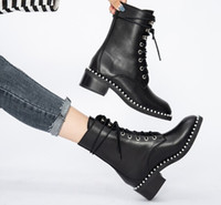 Wholesale british dress boots for sale - Group buy Hot Sale British fashion luxury designer Martin boots Fashion short boot Women boots Brand Boots woman shoes in autumn and wint Dress Shoes
