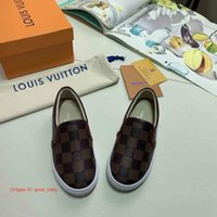 Wholesale kid s shoes for sale - Group buy 2019 Spring Autumn Luxury Designer Boys Girls Girl Casual Shoes Children Shoes Kid S Fashion Classic Flats Shoes For Kids