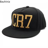 Wholesale brave hat for sale - Group buy Casual Letter CR7 Dad Hats Fashion Baseball Caps Snapback hats Hip Hop Bone for Men Women Gorras Braves