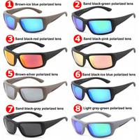 lentes de peixe venda por atacado-2019 Marca de Luxo Designer de Óculos De Sol TR90 Polarizada Óculos de Sol para Homens Mulheres de Surf Óculos De Sol De Pesca Óculos De Sol de Alta Qualidade Lente 580 P