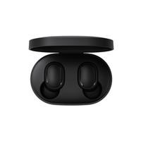 micrófono táctil al por mayor-Xiaomi Redmi AirDots TWS Auricular Bluetooth Estéreo MI AirDots Inalámbrico Bluetooth 5.0 Auricular Control táctil Micrófono Auriculares al por menor 1 unid